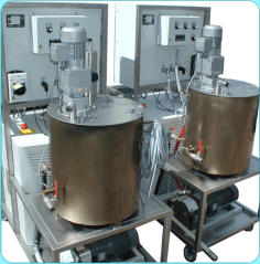 viscosity coatings and temperature control units