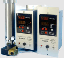 viscosity measurement display units