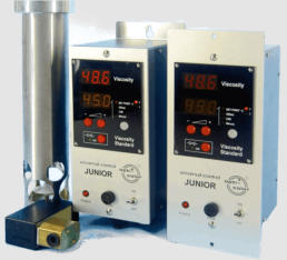 viscosity control digital display units